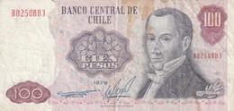 100 PESOS 1977 - Chili