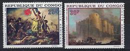 """Congo Aerien YT 71 & 72 (PA) """" Tableaux """" 1968 Neuf** - Neufs"""