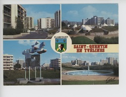 Saint Quentin En Yvelines - Elancourt Multivues : Villeparc Parc Nouveaux Horizons Sept Mares (cp Vierge N°18/102) - St. Quentin En Yvelines