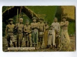 206606 ARGENTINA Indian Missionaries Vintage Photo Postcard - Amérique