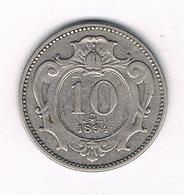 10 HELLER 1894 OOSTENRIJK /3527// - Autriche