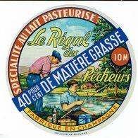 """Et. Spécialité Au Lait Pasteurisé """" Le Régal Des Pêcheurs """"  40% - Champagne - Quesos"""