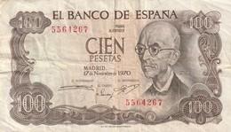 100 PESETAS 1970 - [ 3] 1936-1975 : Regime Di Franco