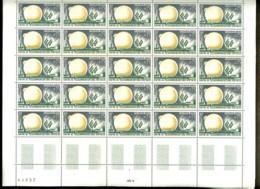 1360 - 25c  Pleumeur-Bodou - Feuille Complète De 25 Timbres - Neuf N** - Très Beau - Full Sheets