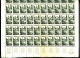 1105 - 8F Le Quesnoy - Feuille Complète De 50 Timbres - Neuf N** - Très Beau (quelques Timbres Jaunis) - Full Sheets