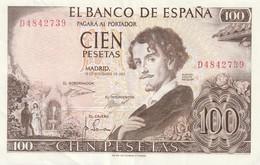100 PESETAS - [ 3] 1936-1975 : Regime Di Franco