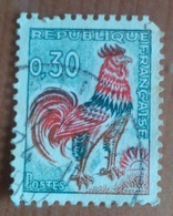 Coq De Decaris (0.30F) - France - 1962 - 1962-65 Cock Of Decaris
