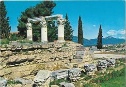 Ancienne Corinthe - Les Ruines D'un Temple Antique - Grèce