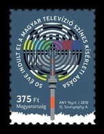 Hungary 2019 Mih. 6032 Hungarian Television's Colour Experimental Transmission MNH ** - Unused Stamps