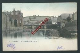 Dolhain - La Vesdre Et Le Pont En Couleur - Limbourg
