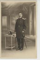 CHERBOURG - MILITARIA - Belle Carte Photo Portrait Militaire Officier Réalisée Par Photo J. KOCH à CHERBOURG - Cherbourg