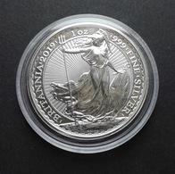 United Kingdom, Britannia 1 Oz 2019 Silver 999 Pure - 1 Oncia Argento Puro Bullion UK England - Collezioni