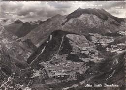 CARTOLINA - POSTCARD - BERGAMO - ALTA VALLE BREMBANA - BORDOGNA - BARSI - RONCOBELLO - Bergamo