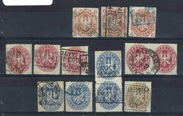 Allemagne - Prusse - 1861-65 - Petit Lot Oblitérés - B/TB - - Prusse
