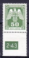 Boheme Et Moravie 1943 Mi D 15 (Yv TS 15), (MNH)** - Bohemia & Moravia