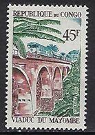"Congo YT 219 "" Viaduc Mayombé "" 1968 Neuf** - Neufs"