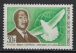 "Congo YT 217 "" Nobel De La Paix, A. Luthuli "" 1968 Neuf** - Neufs"