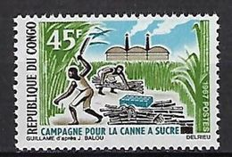 "Congo YT 205 "" Canne à Sucre "" 1967 Neuf** - Neufs"