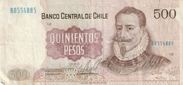 500 PESOS - Chile