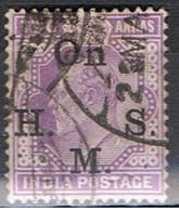 (INA 46) INDIA ANGLAISE // YVERT 38 TIMBRE SERVICE // 1900 - India (...-1947)