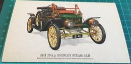 1911 10 H.p. Stanley Steam Car - Passenger Cars