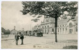 BELGIQUE : MONS - LA STATION (TRAMS) - Mons