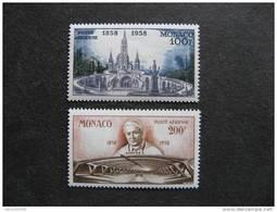 Monaco:  TB Paire PA N° 69 Et N° 70 . Neufs XX. - Airmail