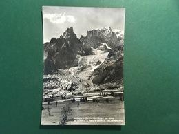 Cartolina Guglia Nera Di Peuterey - M. Bianco E Chiacc. Della Brenva - 1952 - Non Classificati