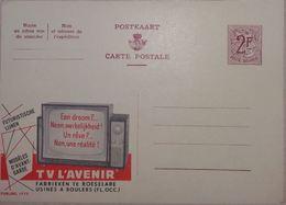 Publibel 1773 Télévision, TV - Entiers Postaux