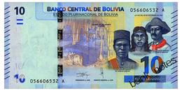 BOLIVIA 10 BOLIVIANOS 1986(2018) Pick New Unc - Bolivia