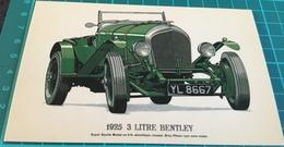 1925 3 Litre Bentley - Passenger Cars