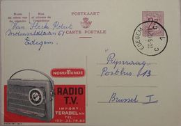 Publibel 1844 Radio Tv Terabel - Stamped Stationery