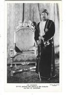 ZANZIBAR Sultan Seyyid Jamshid Bin Abdulla Bin Khalifa - Cartes Postales