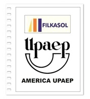 Suplemento Filkasol America U.P.A.E.P. 2000-2004 - Ilustrado Para Album 15 Anillas - Pre-Impresas