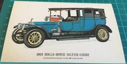 1912 Rolls-Royce Silver Ghost - Passenger Cars