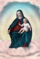 MADONNA DELLA NEVE - Milano - Santuario S.M. Alla Fontana  - F/G - N/V - Vergine Maria E Madonne
