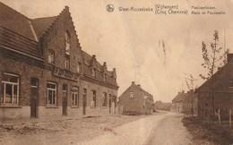 WESTROZEBEKE / WEST-ROOSEBEKE (Staden) - Vijfwegen -  Poelcapellelaan - In Den Goeden Koop - 1928 - Staat - Staden