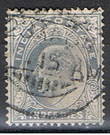(INA 12) INDIA ANGLAISE // YVERT 57 //  1902-09 - India (...-1947)