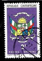 CENTRAFRIQUE S2° 2f Violet Et Multicolore Armoiries (10% De La Cote + 0,15) - Centrafricaine (République)