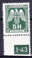 Boheme Et Moravie 1943 Mi D 24 (Yv TS 24), (MNH)** - Bohemia & Moravia