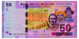 BOLIVIA 50 BOLIVIANOS 1986(2018) Pick New Unc - Bolivia