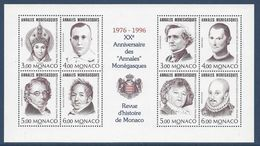 Monaco - Bloc YT N° 72 - Neuf Sans Charnière - 1996 - Blocks & Kleinbögen