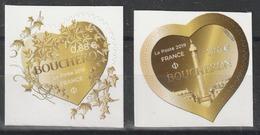 Année 2019 - N° 1669 Et 1670 - Saint-Valentin - Coeurs De Boucheron - 0,88 Et 1,76 - France