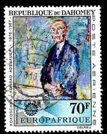 DAHOMEY Aer62° 70f Mort Du Chancelier Konrad Adenauer Tableau Par Kokoschka  (10% De La Cote + 015) - Bénin – Dahomey (1960-...)