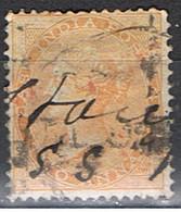 (INA 2) INDIA ANGLAISE // YVERT 22 // 1865-73  OBLITÉRÉ À MAIN - India (...-1947)