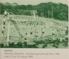 Bassin De Natation Plongeoir Piscine Championnats De Saut (Allemagne) - Kunst- Und Turmspringen