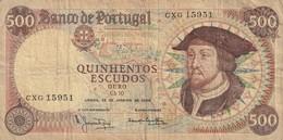 500 ESCUDOS 1966 - Portugal