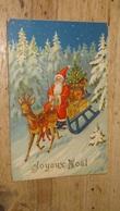 Carte Postale Pere Noel Avec Traineau De 1933 …... … PHI.......2733 - Santa Claus