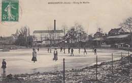 Cpa Dept 02 - Mondrepuis - étang Du Moulin (circulé En 1913 - Voir Scan Recto-verso) - Sonstige Gemeinden