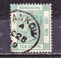 Hong Kong 1882  N° 40  10c Vittoria . Usato - Hong Kong (...-1997)